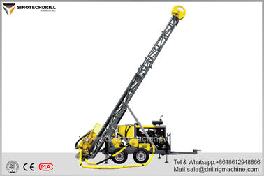 Chiny Atlas Copco Construction Equipment Diamond Core Drill Rig With 5113NM Max Torque dostawca
