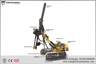 Compact Atlas Copco Surface Drill Rigs , AirROC D35 Mining Blast Hole Drill Rig