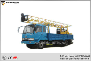 Chiny Water Well Drilling Rigs , Borehole Drilling Equipment 3MT Hoist Single Line Lifting Capacity dostawca
