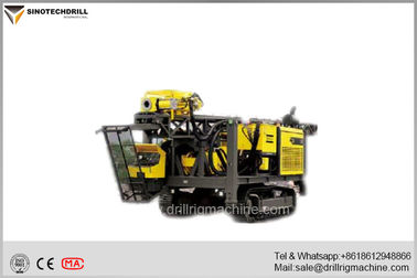 Chiny Crawler Full Hydraulic Surface Diamond Core Drill Rig Atlas Copco C8 / CS3001 dostawca