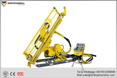 Chiny Deep Hole Hydraulic Underground Core Drill Rig With PQ & HQ Max Rod Size 160Cc Rotation Motor dostawca